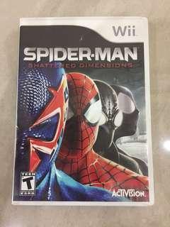Spiderman Wii