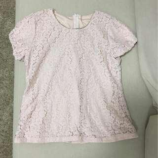 🚚 l'zzie pink top - super cute!
