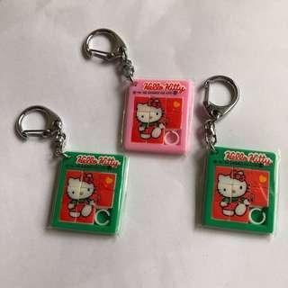 92年Saniro Hello Kitty 拼圖鎖匙扣 #sellfaster