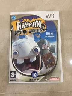 Wii Games Rayman Raving Rabbirds2
