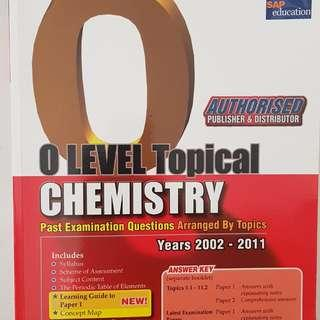 O Level Pure Chemistry Topical TYS