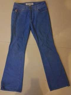 """GUESS Flared Blue Jeans (29"""")"""