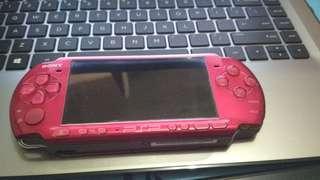 Sony PSP 3006 Metalic Red