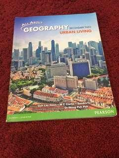 All About Geography secondary 2 textbook