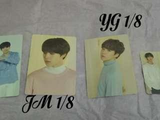 [SALE] BTS Jimin Suga LY Tour Mini Photocard