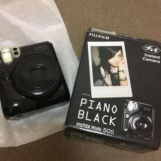 拍立得 piano black instant mini 50s