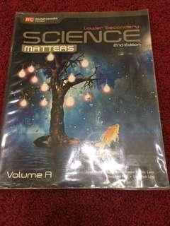 Science Matters textbook