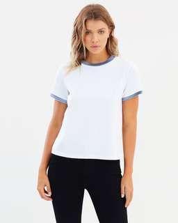 ATMOS & HERE Velvet lined T-shirt