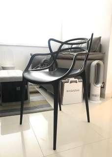 Kartell Master Style chair x 2