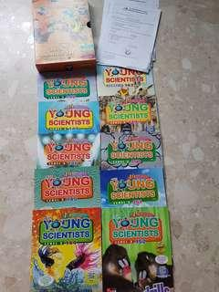 Young Scientists level 2015 - 10 books in a box set