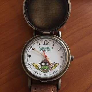 Watch Sanrio 正品 收藏品 1990左右 Kerokerokeroppi (屯門碼頭自取/順豐到付)