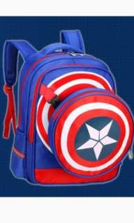 🚚 School Bag | Captain America | Xmas | christmas | gift