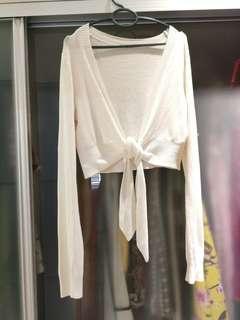Snow White Soft Long Sleeve Cardigan