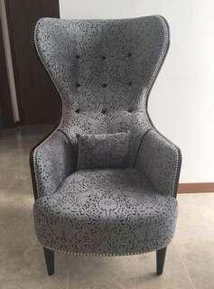 Pre-loved Wingback Armchair