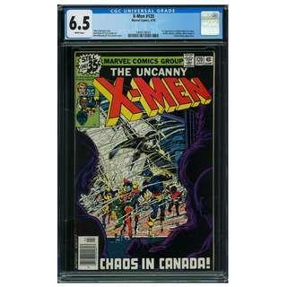 Marvel Comics Uncanny X-MEN #120 CGC 6.5 1st Alpha Flight Bronze Age Key