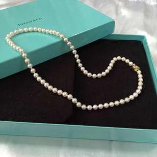New! Tiffany & Co Akoya Pearl Necklace #Next30