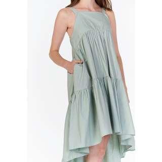 TCL Karra Dipped Hem Midi Dress