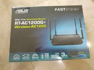 New Asus RT-AC1200G+