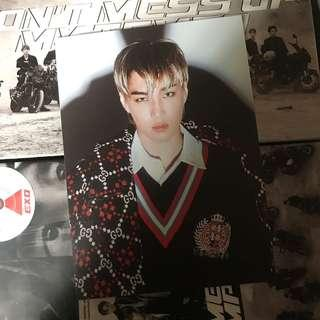 求放 平出 自出價 EXO Tempo Postcard kai