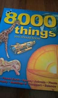 8000 Things you need to know!