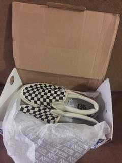 Vans slip on classic checkerboard og