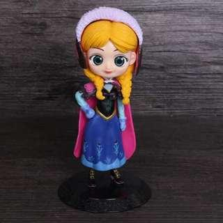New BIG size princess elsa anna frozen cake topper birthday party supplies figurines toys cars decorations