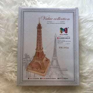 Eiffel Tower 3D wooden puzzle