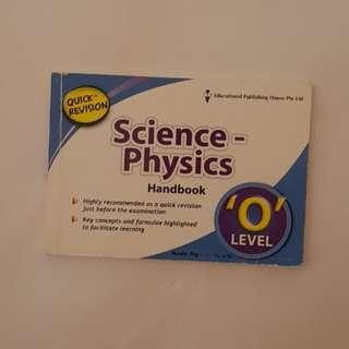 Combined Sci Physics Quick Revision Handbook