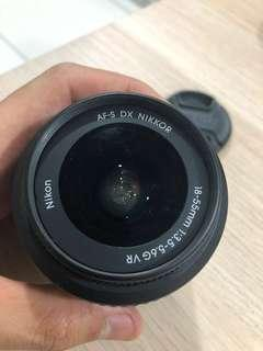 Nikon Nikkor AF-S DX 18-55mm 1:3.5-5.6G VR
