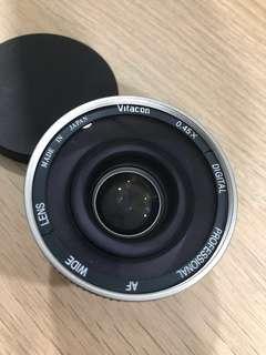 Vitacon 0.45X wide angle lens