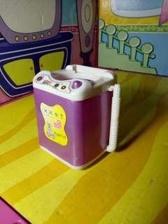 Barbie washing machine