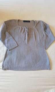 🚚 Padini Knit Top in grey #Next30
