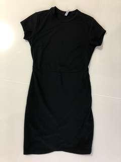 co black bodycon dress