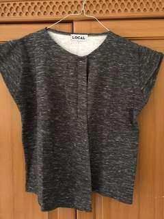 Grey top by local