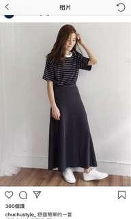 🚚 柔軟傘狀長裙