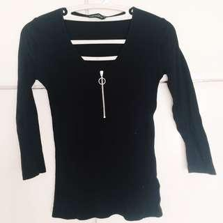Dorothy Perkins Zipped Up Top