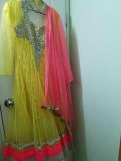 長身裙 indian paki maxi dress anarkali