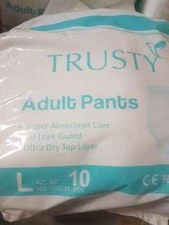 Adults diapers