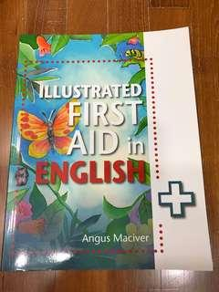 Illustrated first aid in English