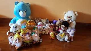New and Pre-loved soft toys