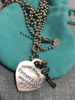 Repriced! Tiffany & co heart tag necklace