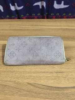 Russet Blue grey long wallet original