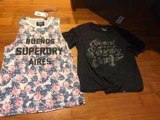 Superdry tank & crop top