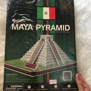 Maya Pyramid 3D Puzzle