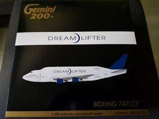 B747 LCF DreamLifter Scale 1:200