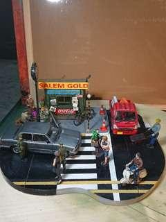 """""""Who's the boss?"""" 1/35 Scale Street display set diorama"""