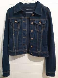 stradivarius denim jacket original