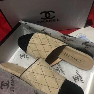 Authentic Chanel Mules / Shoes