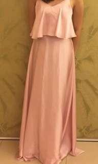 Pale Old rose Gown