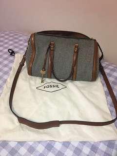 Authentic Fossil Woman Handbag